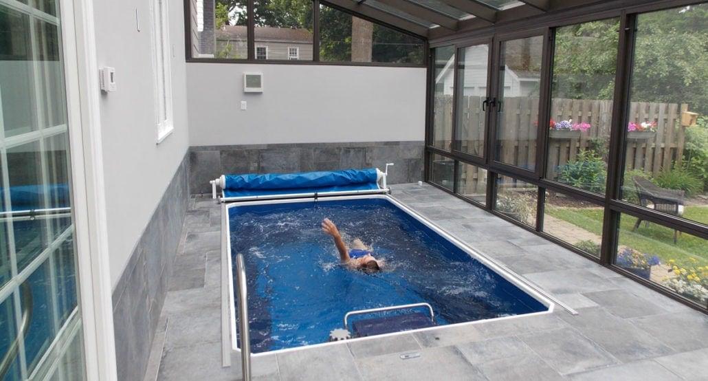 Endless Pools, Performance, installerat i uterum