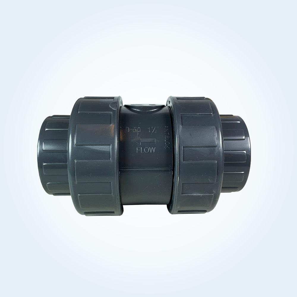 Backventil 50 mm, limanslutning