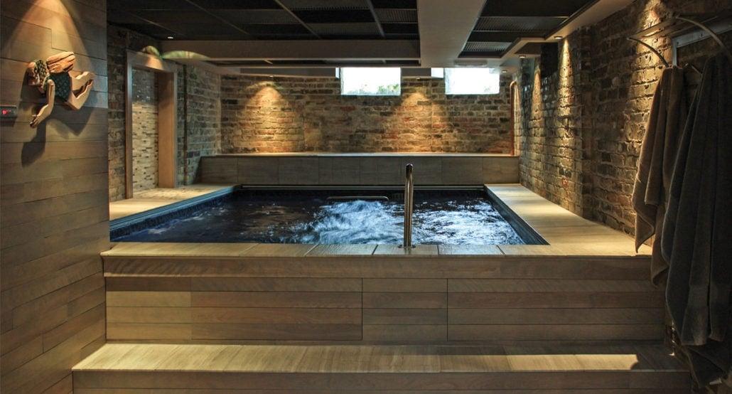Endless Pools, Performance, del av relaxdel i källare