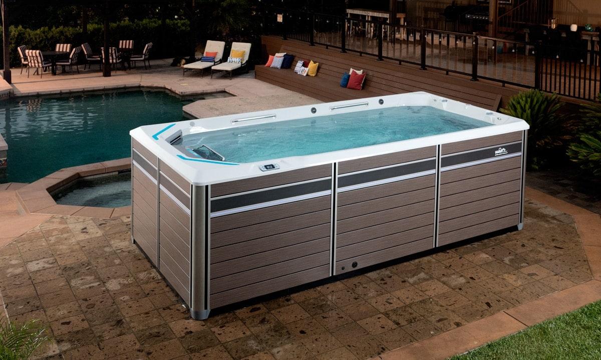 Endless Pools, Fitness System, E550, i poolmiljö