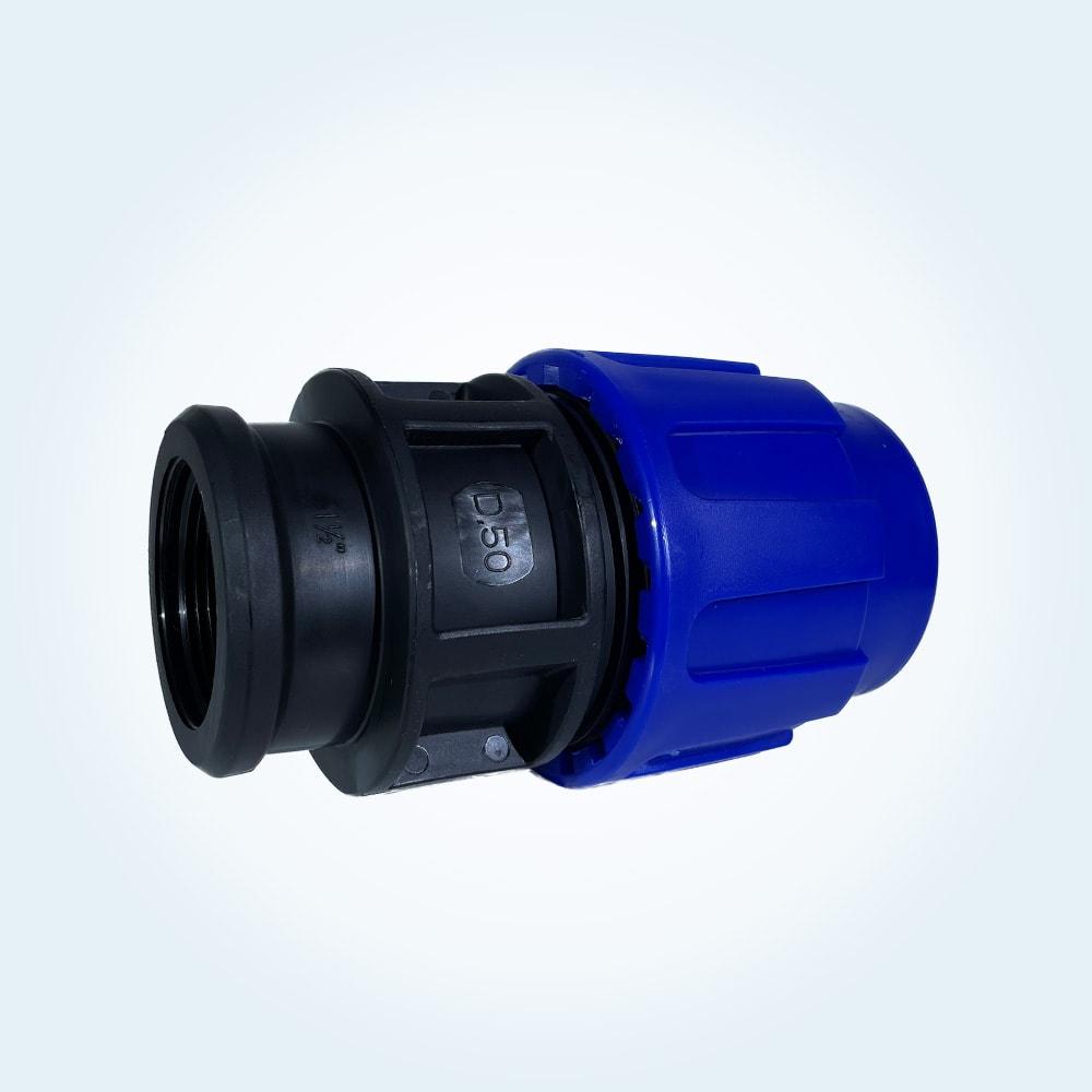 Klämringskoppling. 50 mm x 1 1/2 tum (invändig)