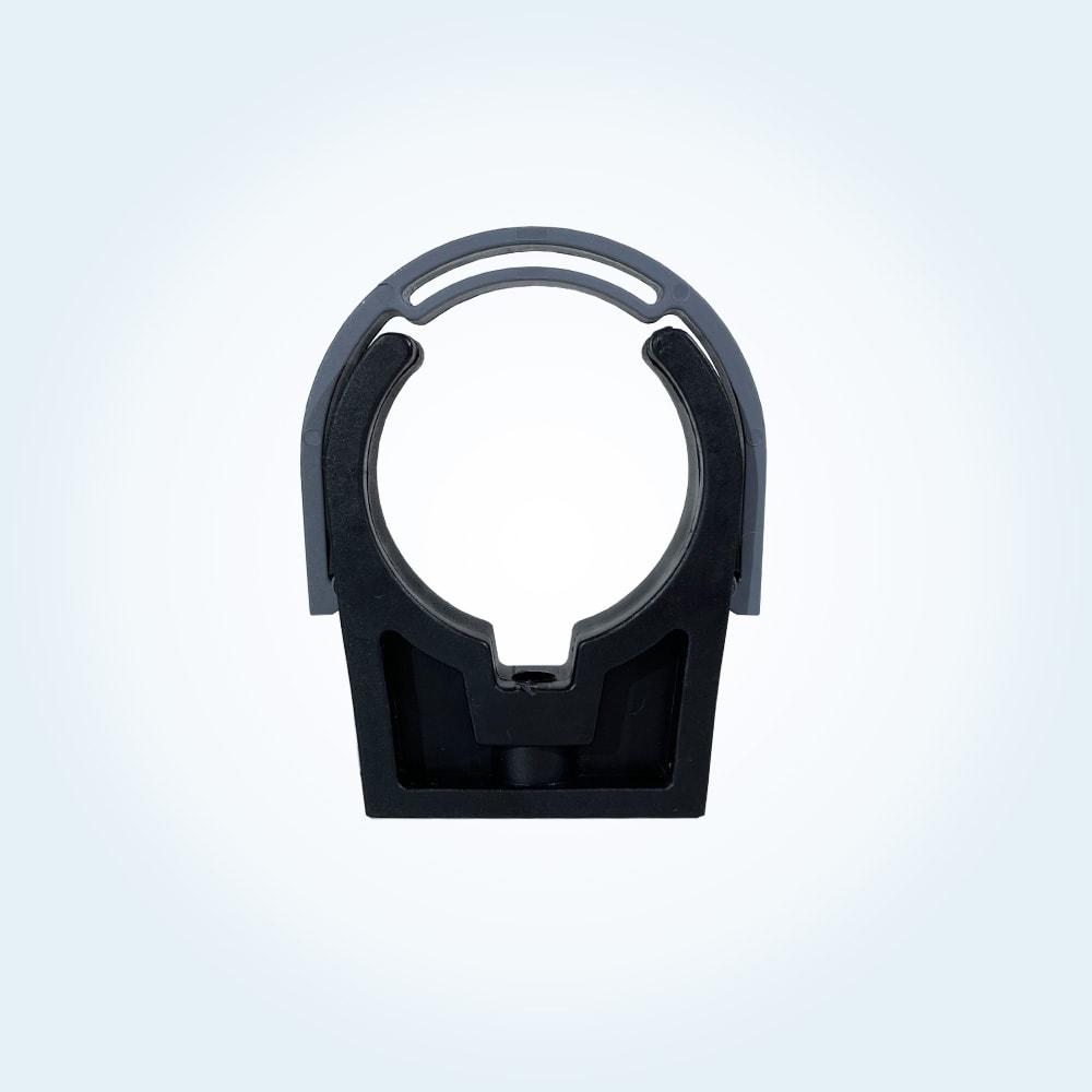 Slangklammer med bygel, 50 mm (ihopsatt)