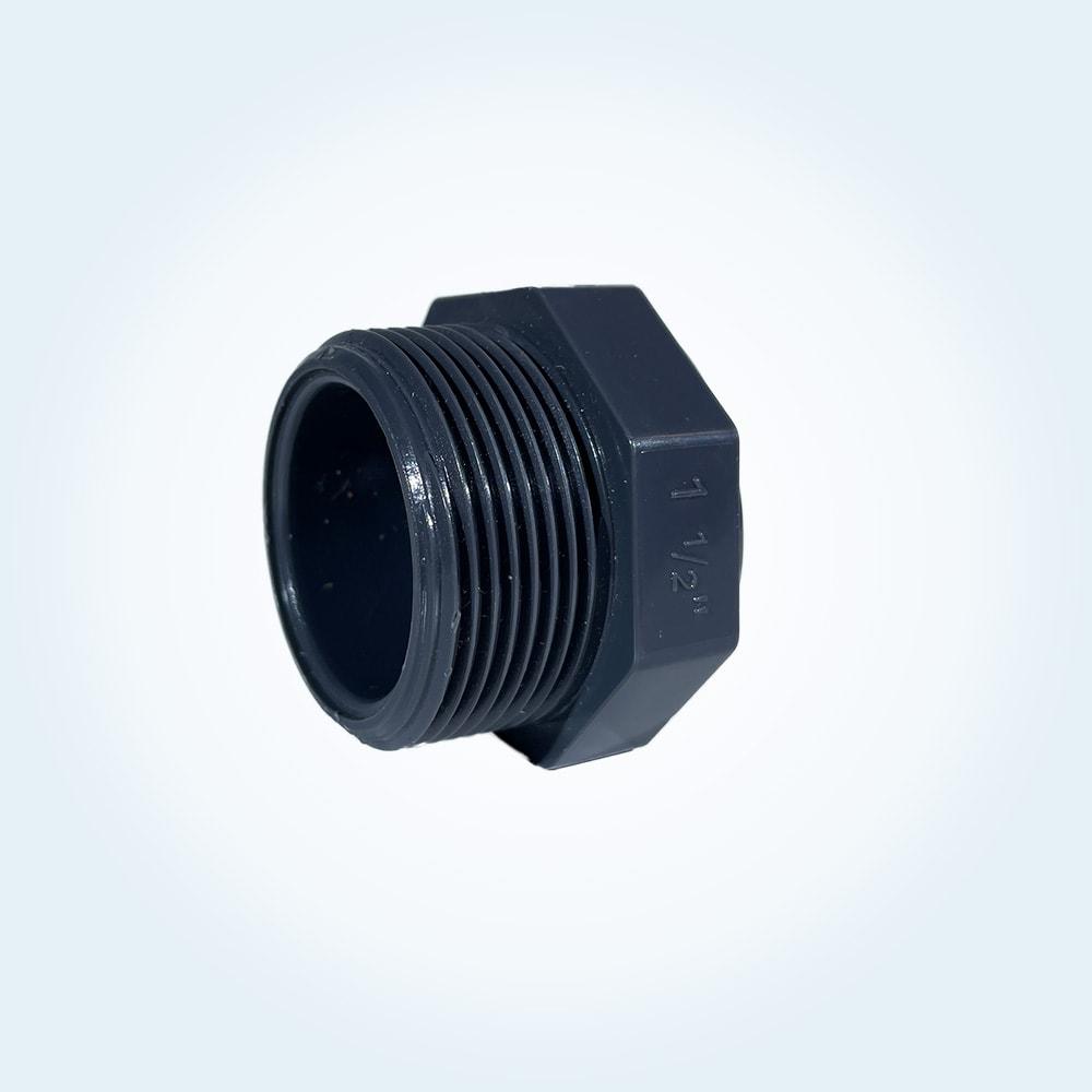 Tryckrör lock, 1 1/2 tum (utvändig)