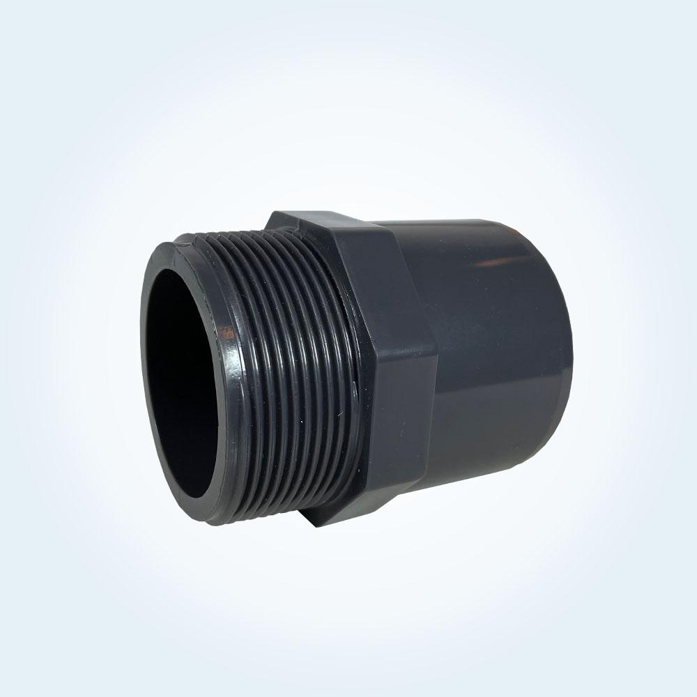 Tryckrör nippel, 63/50 mm x 1,5 tum (utvändig)