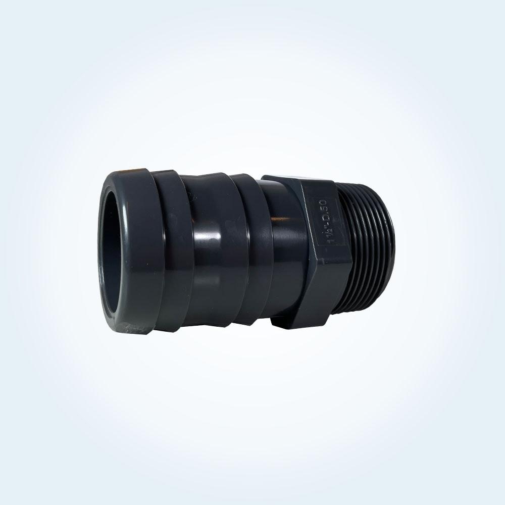 Tryckrör slangnippel, 1 1/2 tum X 50 mm