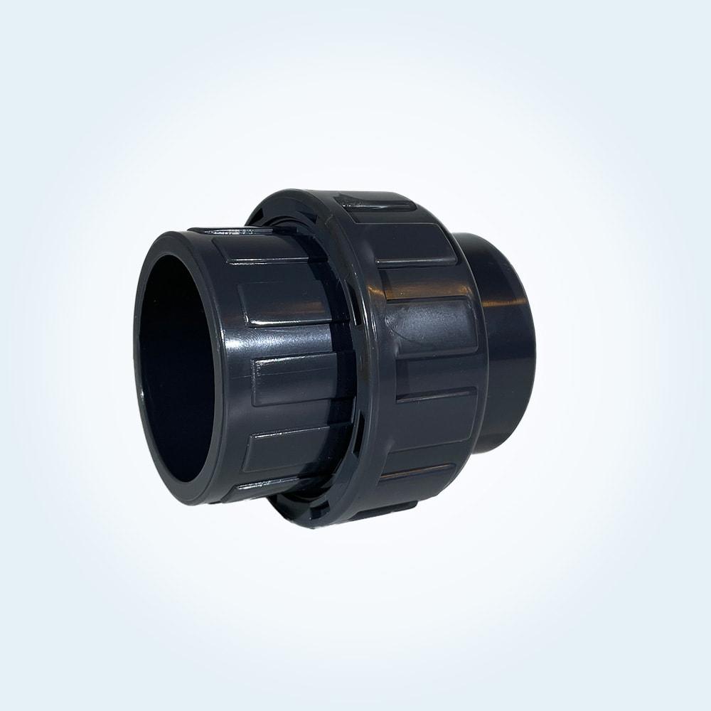 Tryckrör unionkoppling i PVC, 50 mm