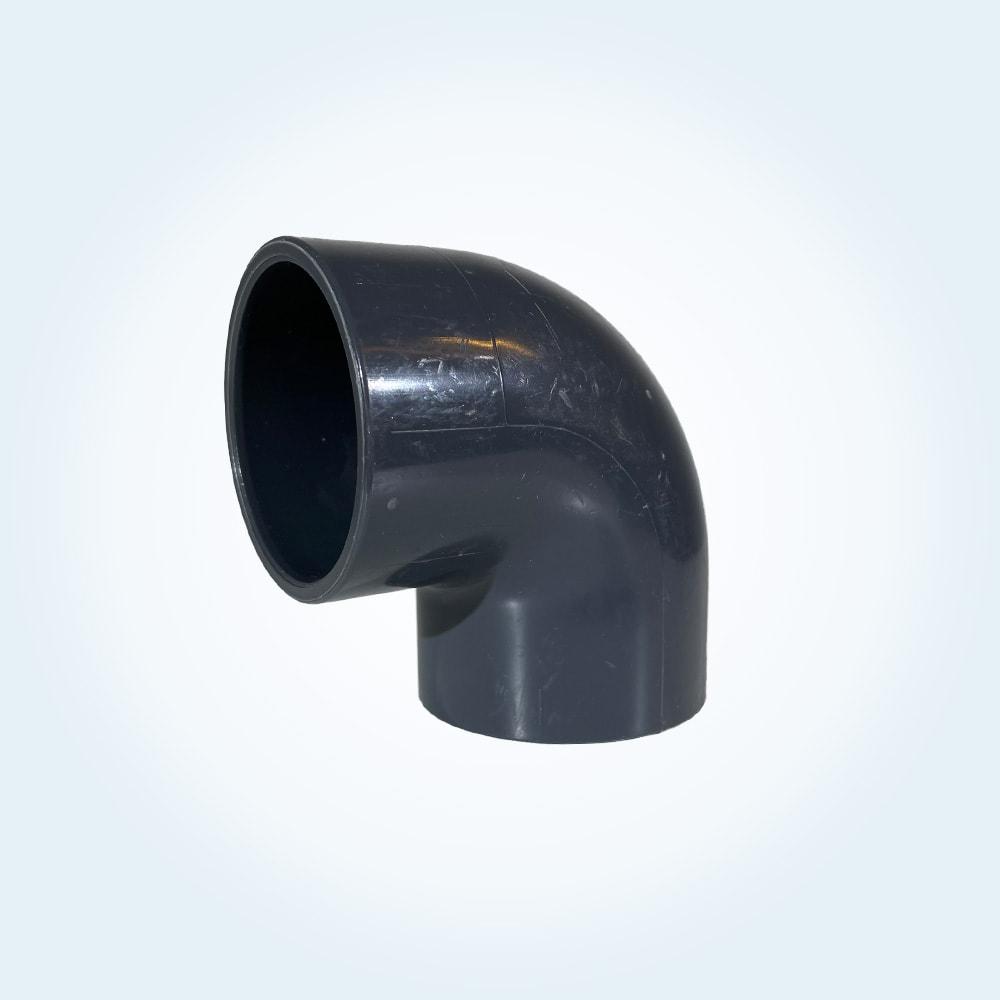 Tryckrör i PVC, vinkel 90 grader