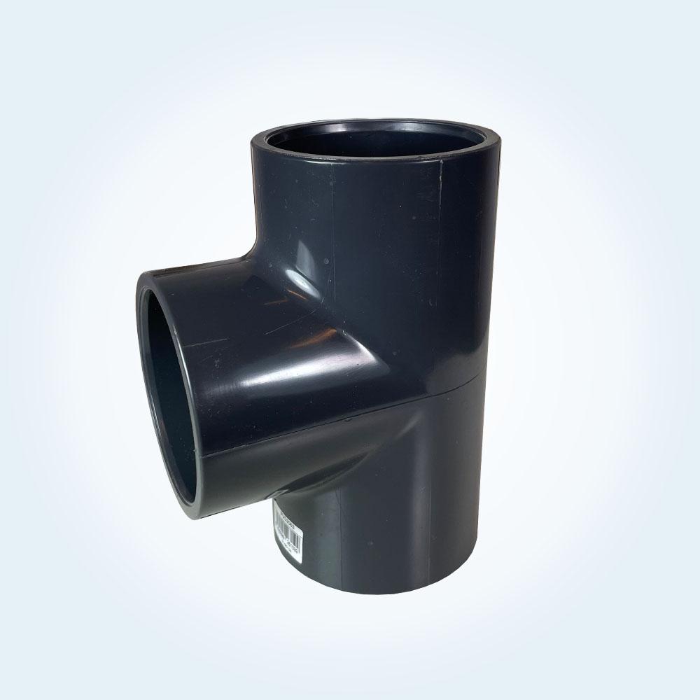 Tryckrör i PVC, T-rör, 63 mm