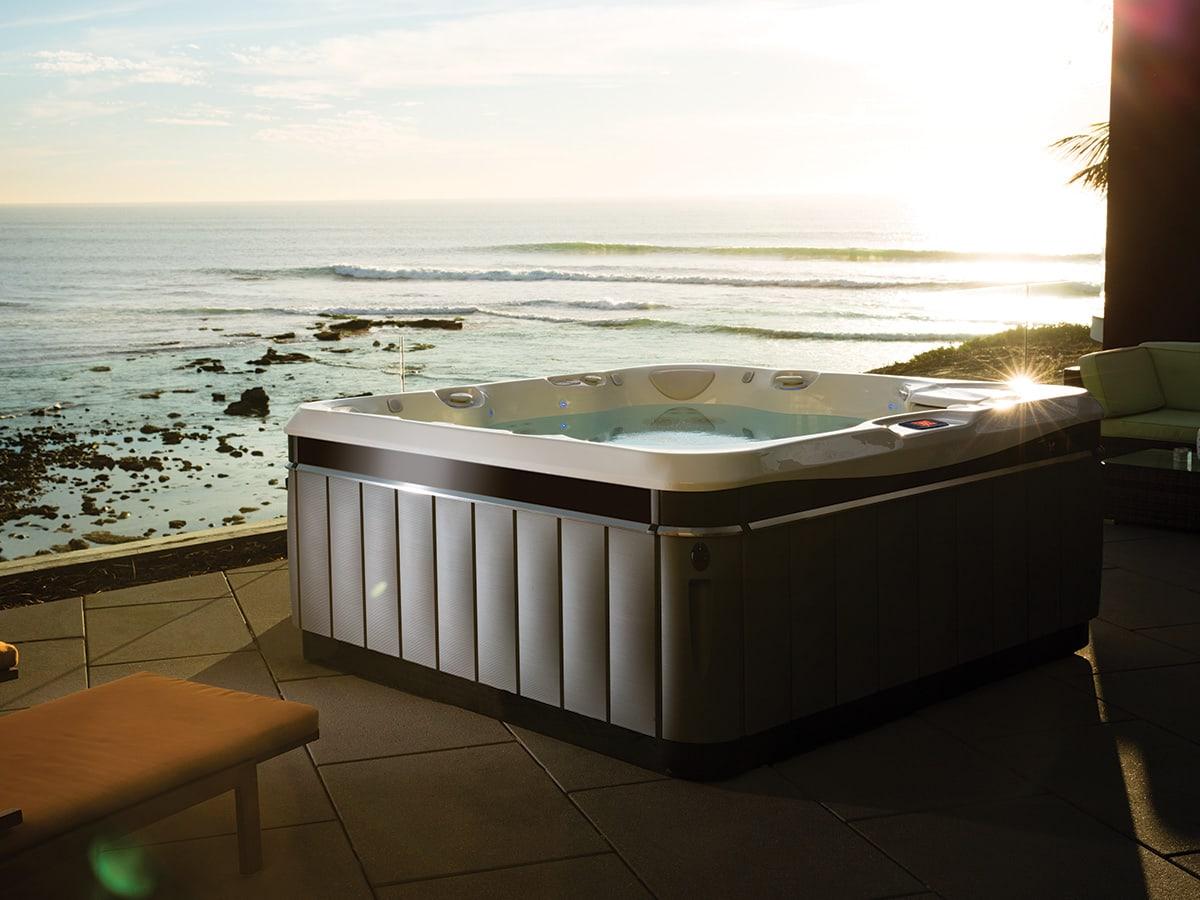 Spabad Caldera Utopia Tahitian, vid havet, Pool store