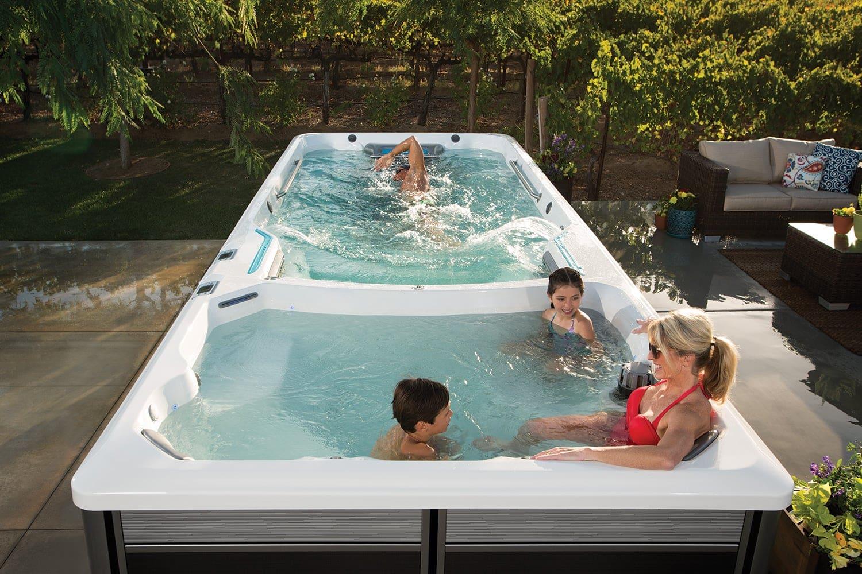 Endless Pools Fitness Systems, E2000, familj badar