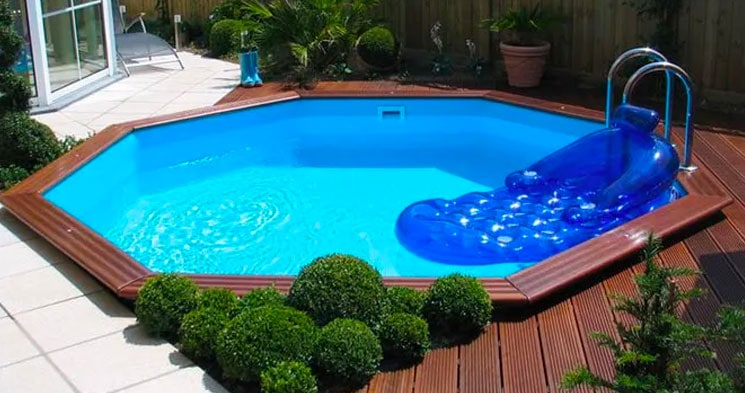 Garden pool, Pool store