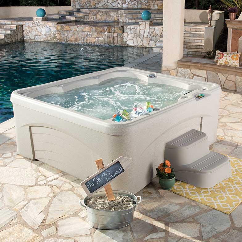 Spabad Fantasy Spas, kategoribild, Pool store