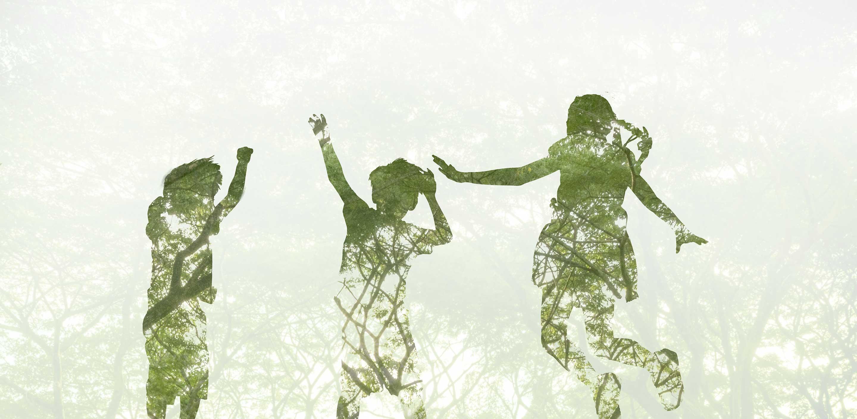 Wikipool, Tänk på miljön, barn hoppar, Pool Store